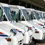 postal trucks