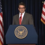 Perry at Reagan library