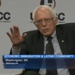 Sanders on unemployment