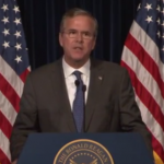 Jeb at Reagan slider