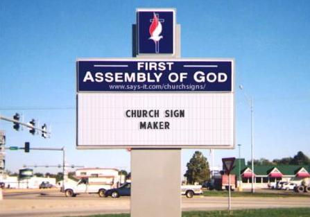 original-church-sign