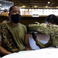 Marine General Supports Vaccinations for Military