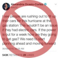 Phony Tweet Targets AOC