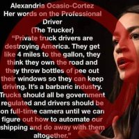 Fake AOC Quotes Keep on Trucking