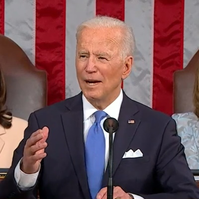 Video From Biden's Address to Congress Misleadingly Edited