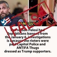 Memes Misidentify D.C. Police Officer as Jan. 6 Protester