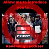 Meme Misidentifies Stock Image as Kavanaugh Accuser