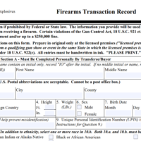 A False Claim About H.R. 8 and a 'Firearms Registry'