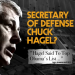 Haggling Over Hagel's Record