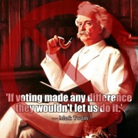 Fake Mark Twain 'Quote' Mocks Voting