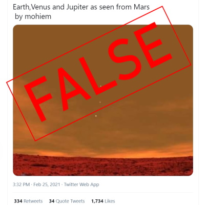 Post Revives Fabricated Image of View from Mars
