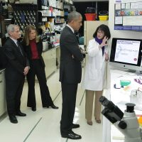 Old Photo Shows Obama, Fauci at U.S. Facility — Not 'Wuhan Lab'