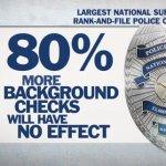 NRA Misrepresents Police Survey, Legislation