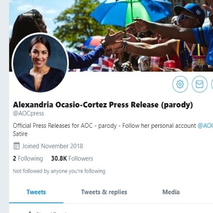 Parody Ocasio-Cortez Tweet Mistaken as Real - FactCheck org