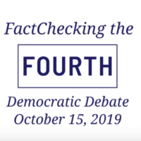Video: FactChecking October Debate Claims