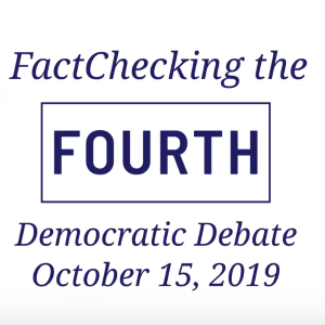 Video: FactChecking October Debate Claims