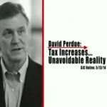 Distorting Perdue's Position on Taxes