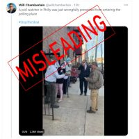 Overblown Claims of 'Bad Things' at Philly Polls