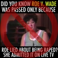 Rape Wasn't Part of Roe Decision