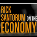 Does Santorum Care About Unemployment?