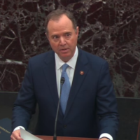 Viral Photo Doesn't Show Schiff With Whistleblower