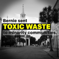 Anti-Sanders Ad Misleads on 'Toxic Waste' Site