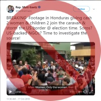No Evidence Soros Is Funding Immigrant 'Caravan'