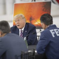 Trump Bucks Climate Science in Wildfire Briefing