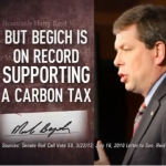AFP Distorts Begich's Carbon Tax Stance