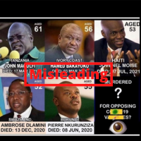 Baseless Conspiracy Theory Follows Deaths of Haitian President, Other National Leaders