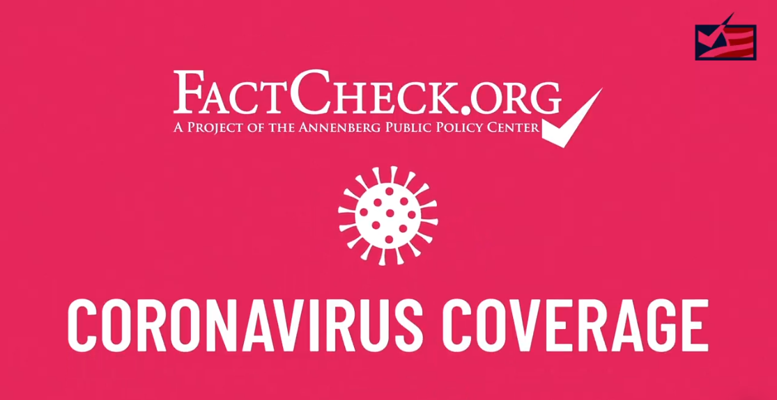 A Guide To Our Coronavirus Coverage Factcheck Org
