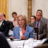 DeVos' Outdated Statistic on School Efforts