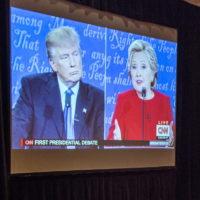 Trump Renews Unfounded Claim on Debate Mic
