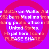 Viral Posts Misinform on McCarran-Walter Act