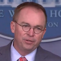 Mulvaney's Spin on Ukraine Aid