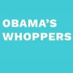 Video: Obama's Whoppers