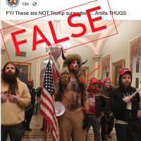 Bogus Antifa Claims Follow Capitol Riot