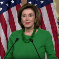 False Claim That Pelosi Withheld Coronavirus Funds Over Abortion
