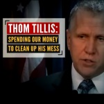 Tillis Response Ad Cries 'False'