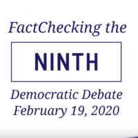 Video: The Ninth Democratic Debate