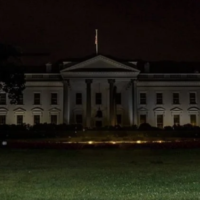 Viral Posts Share Old, Edited White House Photo in Dark